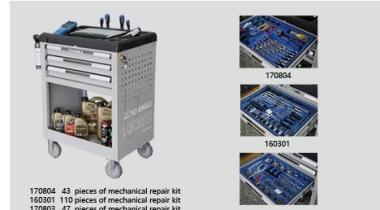 200pcs Quick Repair Tools Program